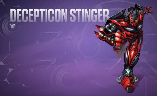 Decepticon Stinger Transformers 4