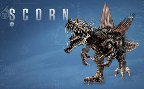 Динобот Scorn из Transformers 4